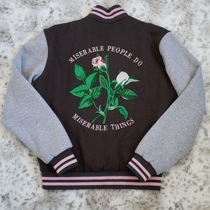 Ball & Chain Varsity Jacket Size L